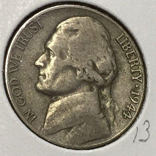 1944-D Jefferson Wartime Nickel (10242)