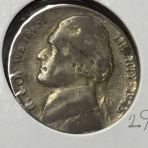 1945-S Jefferson Wartime Nickel (10250)
