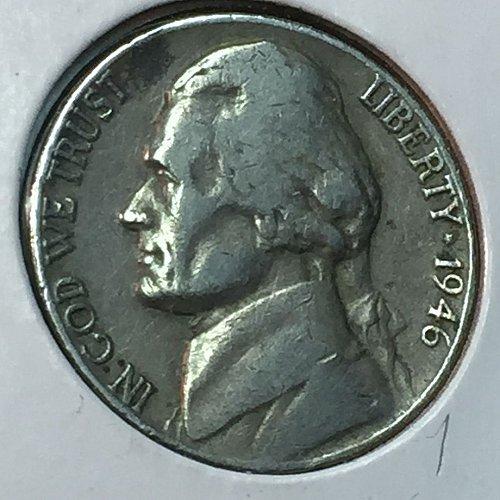1946-P Jefferson Nickel (10251)
