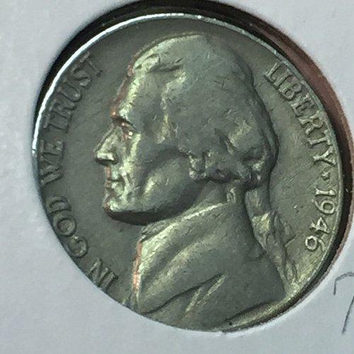 1946-P Jefferson Nickel (10252)
