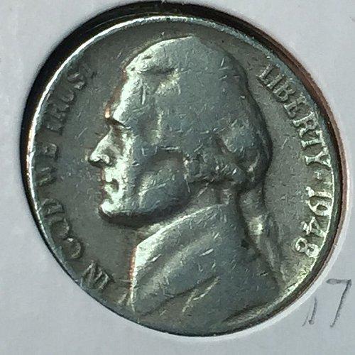 1948-P Jefferson Nickel (10259)
