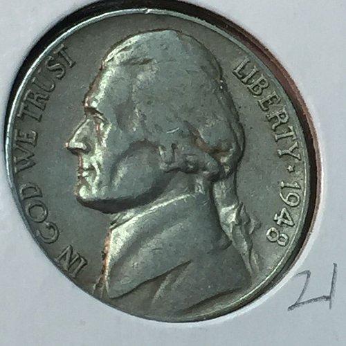 1948-D Jefferson Nickel (10261)