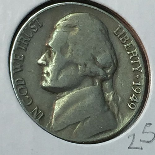 1949-P Jefferson Nickel (10263)