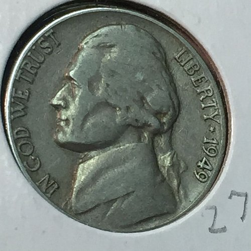 1949-P Jefferson Nickel (10264)