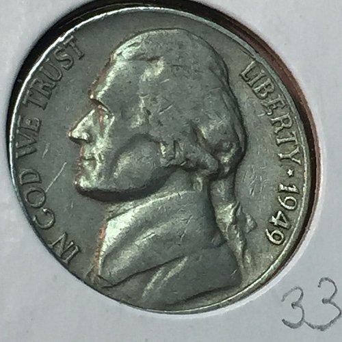1949-D Jefferson Nickel (10267)