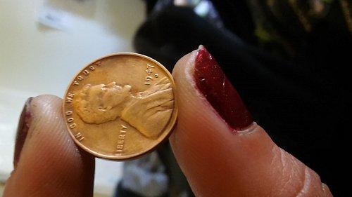 1947 D linboln wheat cent