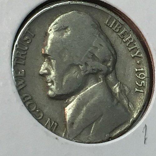 1951-P Jefferson Nickel (10268)