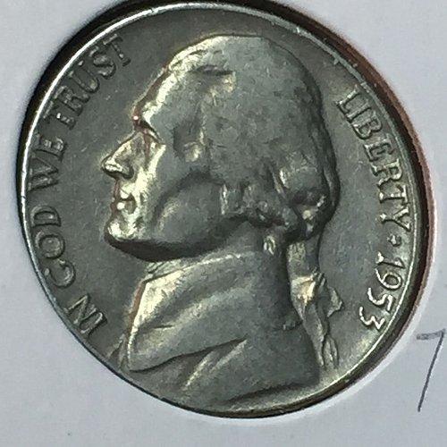 1953-D Jefferson Nickel (10271)
