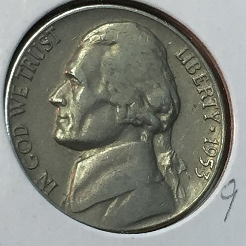 1953-D Jefferson Nickel (10272)