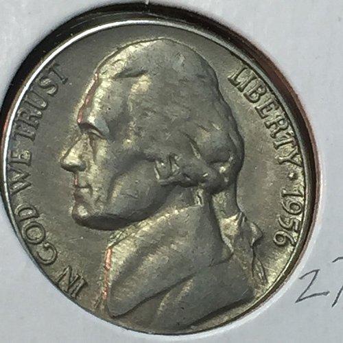1956-D Jefferson Nickel (10281)