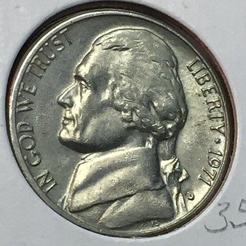 1971-D Jefferson Nickel (10285)