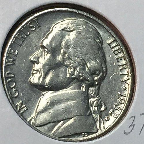 1982-D Jefferson Nickel (10286)
