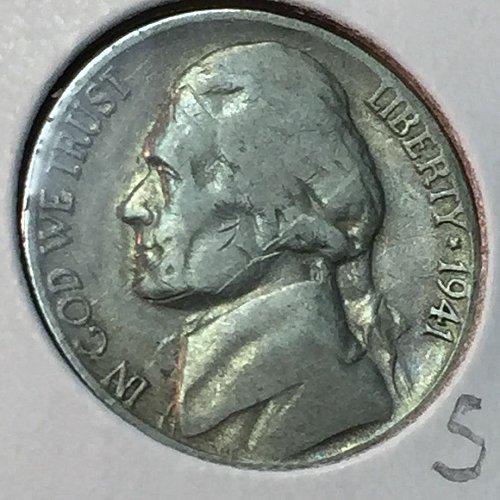 1941-S Jefferson Nickel (40408)