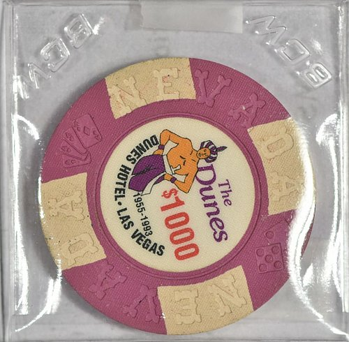 Casino Commemorative Chip, The Dunes, Las Vegas, $1000, (Item 363)