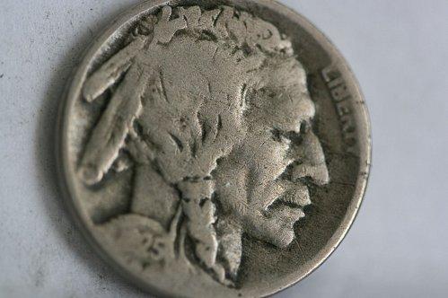 1925 D Buffalo nickel