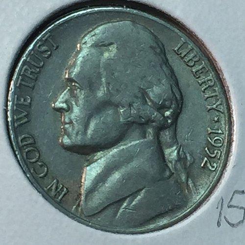 1952-S Jefferson Nickel (40454)