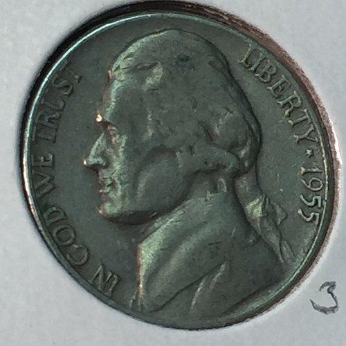 1955-D Jefferson Nickel (40486)