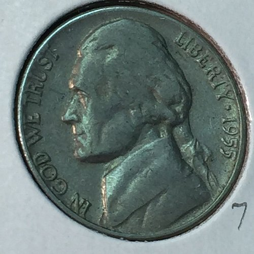 1955-D Jefferson Nickel (40488)