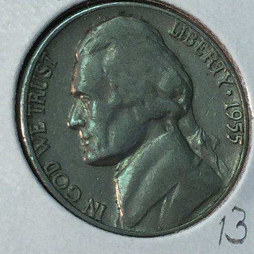 1955-D Jefferson Nickel (40499)