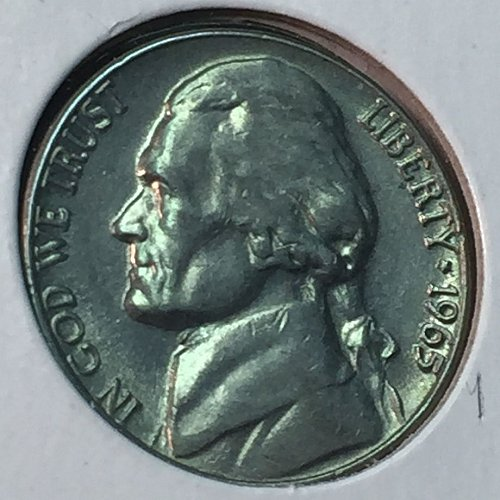 1965-P Jefferson Nickel (10289)