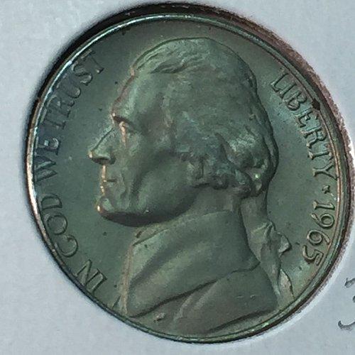1965-P Jefferson Nickel (40525)