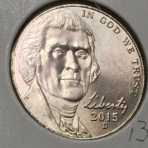 2015-D Jefferson Nickel  (10300)