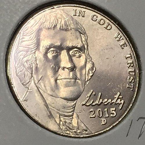 2015-D Jefferson Nickel  (10302)