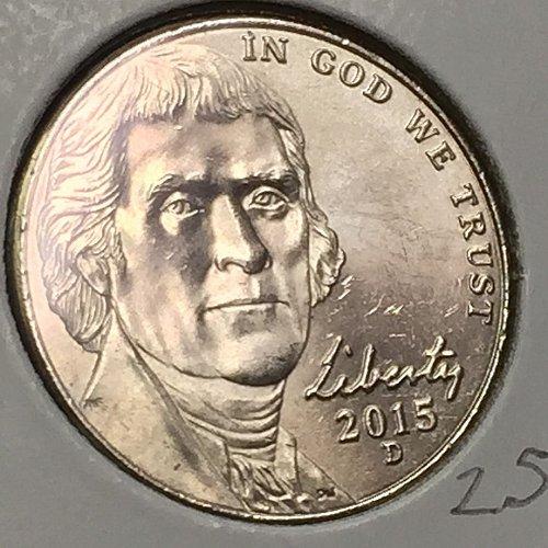 2015-D Jefferson Nickel  (10306)