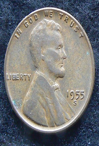 1955 S Lincoln Wheat Cent (EF-40)