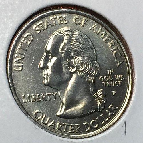 2000-P States and Territories - Massachusetts- Quarter (40604)