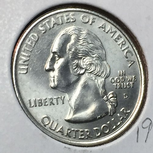 2000-D States and Territories - South Carolina - Quarter (40620)