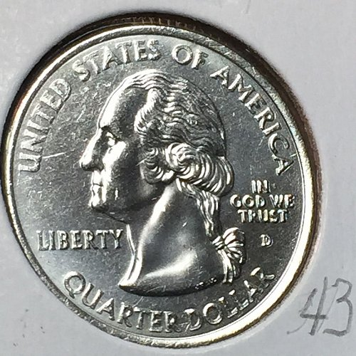2001-D States and Territories - Rhode Island - Quarter (40671)