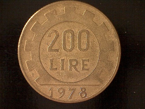 1978R ITALY TWO HUNDRED LIRE