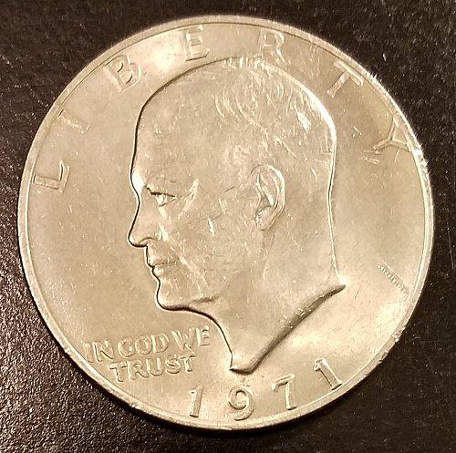 1971 Eisenhower Dollar (6573)