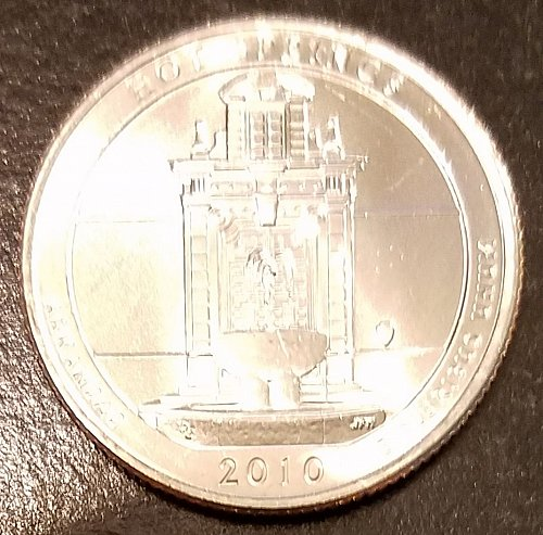 2010-D Hot Springs ATB Quarter - From Mint Roll! (6575)