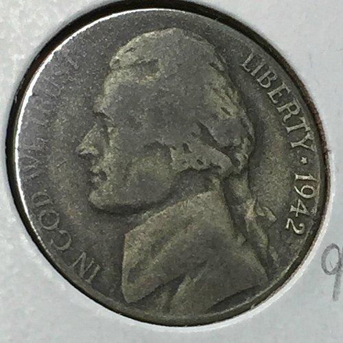 1942-P Jefferson Wartime Nickel (40733)