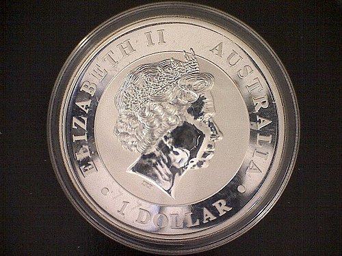 """2012 AUSTRALIAN ONE DOLLAR (AUD) """"KOALA""""  SILVER BULLION ROUND"""