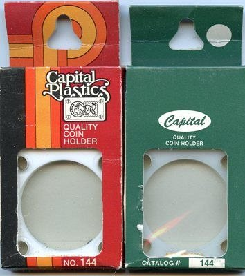 Capital Plastic #144 Holder - Mexico 50 Peso - White - New Condition Closeout