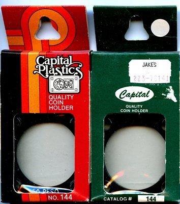Capital Plastic #144 Holder - Mexico 50 Peso - Black - New Condition Closeout