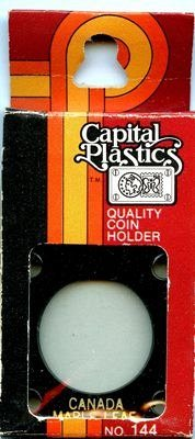 Capital Plastic #144 Holder - Canada Maple Leaf - Black - New Condition Closeout