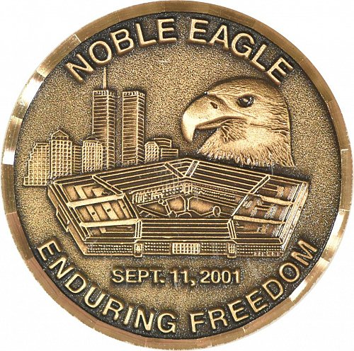Challenge Coin, Operation Noble/Operation Enduring Freedom (Item 367)