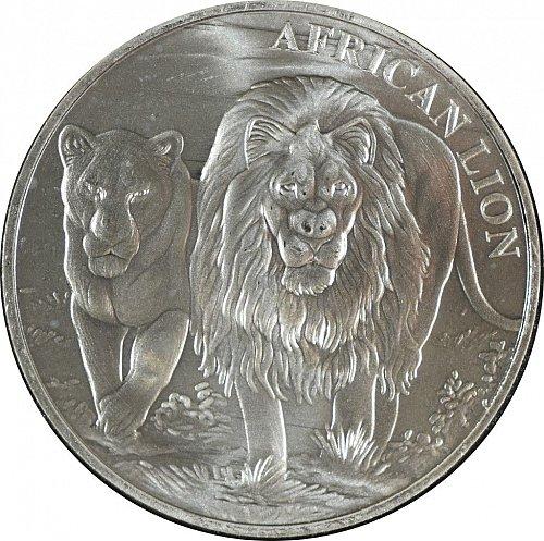 Republique du Congo, 2016, African Lion, 5000 francs, (Item 383)