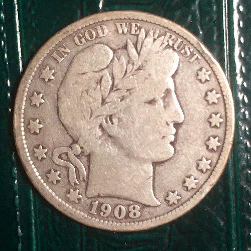1908D Barber Half