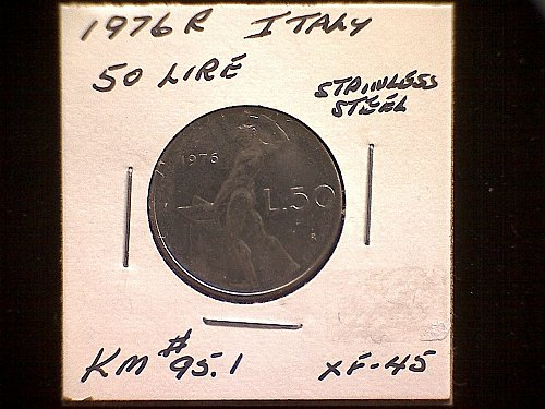 1976R ITALY FIFTY LIRE