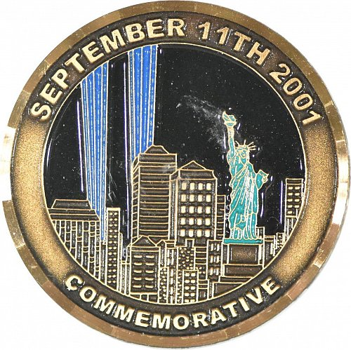 911 Commemorative Challenge Coin, New (Item 371)