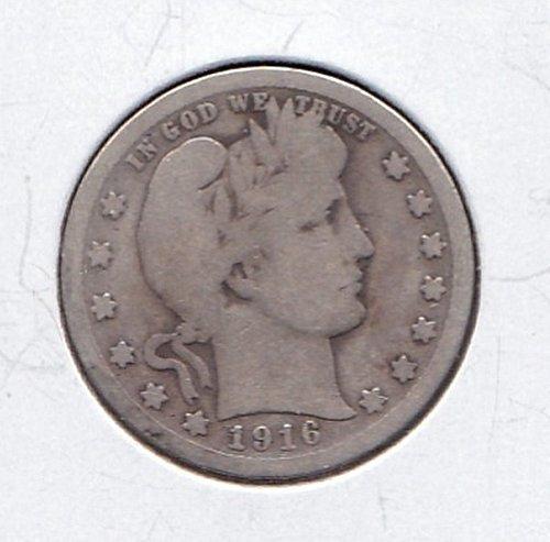 1916 Barber Quarter   (n181)