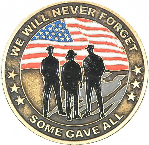 911 Commemorative Challenge Coin, New (Item 372)