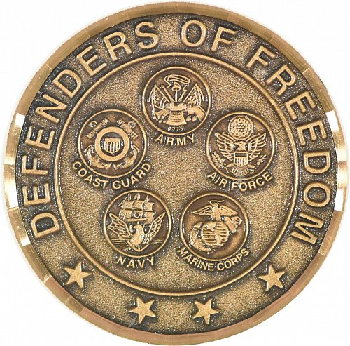Challenge Coin, Operation Noble/Operation Enduring Freedom (Item 369)
