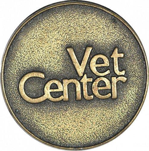 Challenge Coin, Vet Center, Circa 1997,