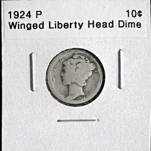1924 P Winged Liberty Head Dime